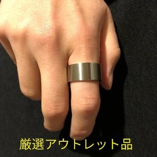 【厳選アウトレット品】極太 平打リング ワイド【17サイズのみ】(リング(指輪))