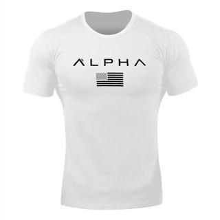 ALPHA Tシャツ ホワイト(Tシャツ/カットソー(半袖/袖なし))