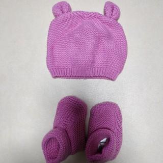 ベビーギャップ(babyGAP)のGAP  新生児  ニット帽、靴下(その他)
