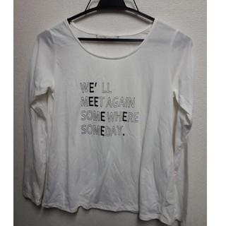 ルカ(LUCA)のLUCA ロングTシャツ 白(Tシャツ(長袖/七分))