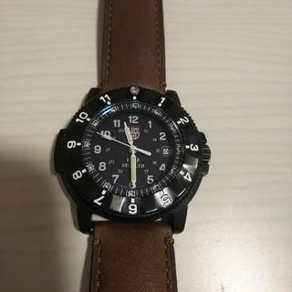 ルミノックス(Luminox)の美品 LUMINOX ナイトホーク 200m防水(腕時計(アナログ))