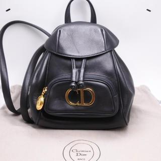 クリスチャンディオール(Christian Dior)のChristian Dior ヴィンテージ リュック バックパック ブラック (リュック/バックパック)