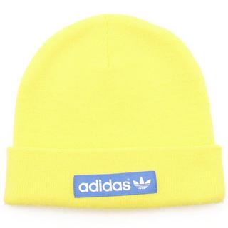 adidas - adidasニット帽黄色