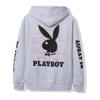 シュプリーム(Supreme)のAnti social social club grey playboy (パーカー)