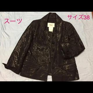 ルネ(René)のRene  TISSUE社製ゴブラン織スーツ  38(スーツ)