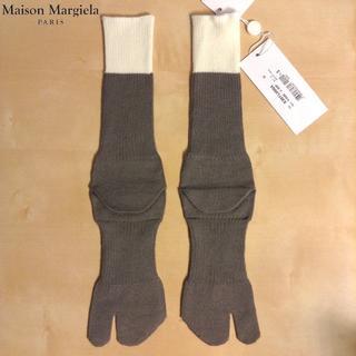 マルタンマルジェラ(Maison Martin Margiela)の新品■S■マルジェラ 17aw■タビ 足袋ソックス■グレー■5459(スニーカー)