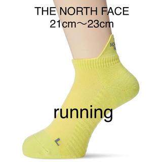 ザノースフェイス(THE NORTH FACE)の新品 THE NORTH FACE 機能性ランニングソックス GOLDWIN(ソックス)