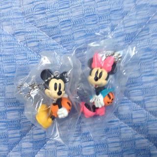 ディズニー(Disney)のハロウィン ミッキーミニー キーホルダー(その他)