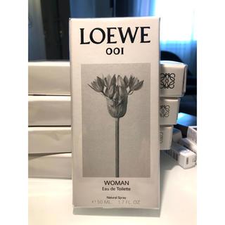 ロエベ(LOEWE)のLOEWE001 woman ロエベ001 オードトワレ 50ml 新品未開封①(香水(女性用))