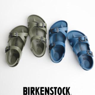 ビルケンシュトック(BIRKENSTOCK)のビルケンシュトック サンダル Rio ネイビー サイズ34(サンダル)