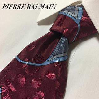 Pierre Balmain - PIERRE BALMAIN  ピエールバルマン アート 総柄 ネクタイ