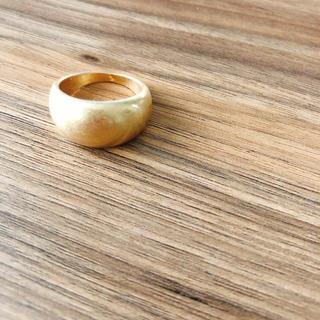 【にこ8642様専用】ぷっくりゴールドリング(リング(指輪))
