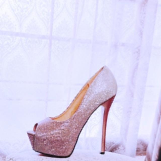 dazzy store(デイジーストア)のグラデーションピンク パンプス  レディースの靴/シューズ(ハイヒール/パンプス)の商品写真