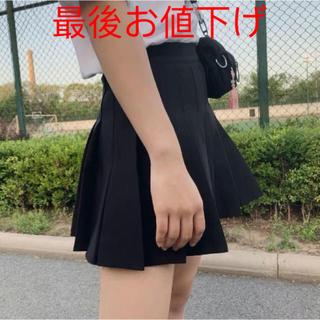 お値下げミニスカート かわいいスカート 大人気ミニスカート2XL 黒 新品(ミニスカート)