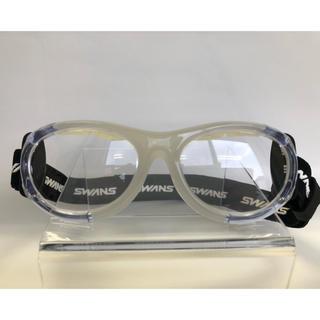 SWANS - スワンズ SWANS アイガード 新品 スポーツ 度付き 日本製 ジュニア 眼鏡