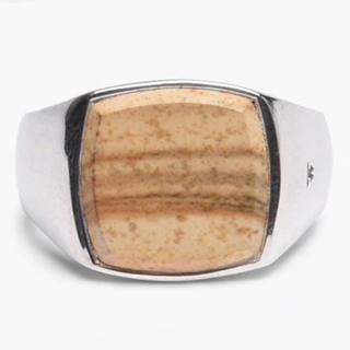 マルタンマルジェラ(Maison Martin Margiela)のtom wood ジャスパー リング トムウッド(リング(指輪))