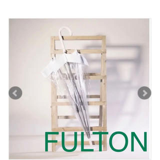 HUNTER - フルトン/バードゲージ 傘 ホワイト
