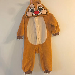チップアンドデール(チップ&デール)の子供用 着ぐるみ ロンパース チップ&デール(ロンパース)