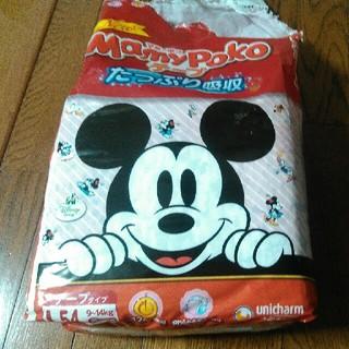ディズニー(Disney)のマミーポコ ディズニー柄 Lサイズ 54枚中27枚残っています。(ベビー紙おむつ)