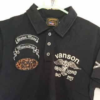 バンソン(VANSON)のvanson ポロシャツ(カットソー(半袖/袖なし))