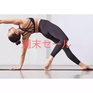 ルルレモン(lululemon)のタグ付き新品半額2019Lululemon align 7/8 pant 黒4(ヨガ)