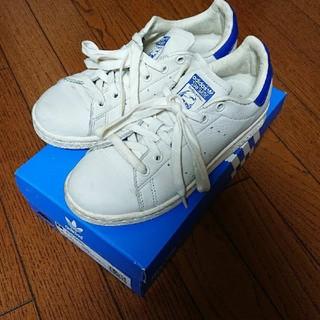 アディダス(adidas)のadidas stan smith 22cm 希少 ブルー(スニーカー)