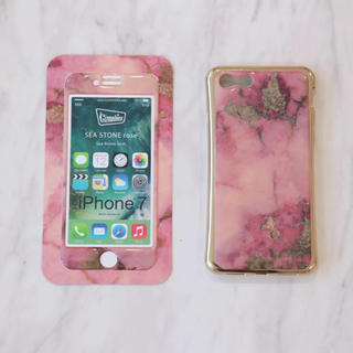 シールームリン(SeaRoomlynn)のWEB完売♢SEA STONE NEO iPhoneシール♢Rose(iPhoneケース)