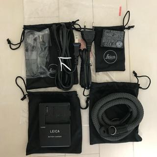 LEICA - LEICA(ライカ)Q Typ116 希少なチタングレー  +α バッテリー