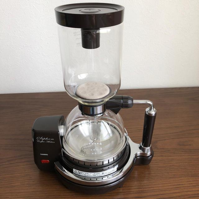 TWINBIRD(ツインバード)のツインバード サイフォン式 コーヒーメーカー スマホ/家電/カメラの調理家電(コーヒーメーカー)の商品写真