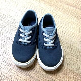 ポロラルフローレン(POLO RALPH LAUREN)のラルフローレン POLO 子供靴 ベビー靴(スリッポン)