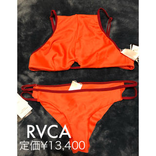 ルーカ(RVCA)の☆新品タグ付き☆RVCA☆ビキニ 上下セット S(水着)