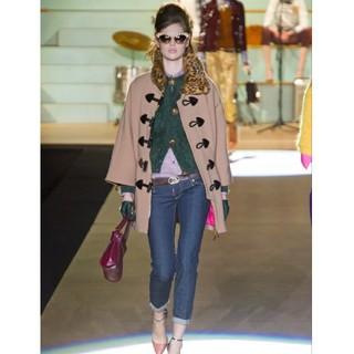 ドゥロワー(Drawer)の定価45万ディースクェアードのファー襟コート未使用品blaminkyori(ダッフルコート)