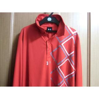 アンダーアーマー(UNDER ARMOUR)のアンダーアーマー 長袖 ポロシャツ XLサイズ(Tシャツ/カットソー(七分/長袖))