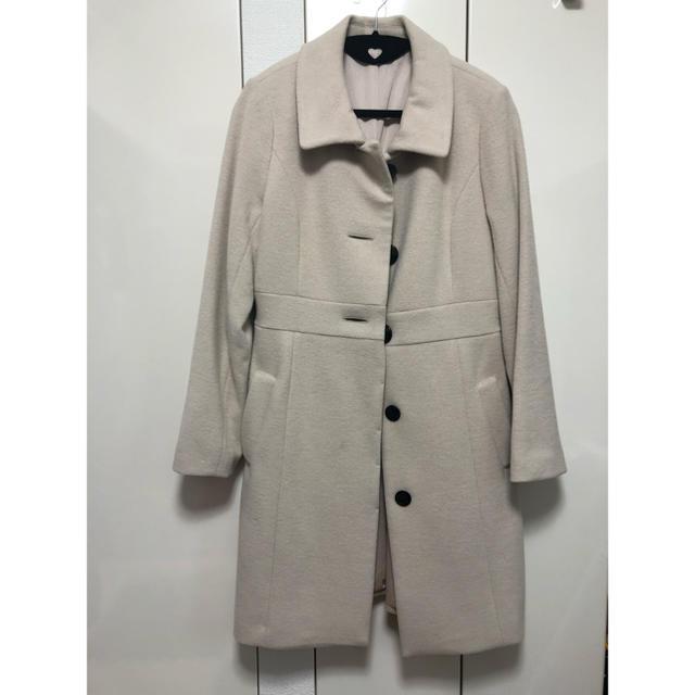 RU(アールユー)のロングコート ベージュ アールユー レディースのジャケット/アウター(ロングコート)の商品写真