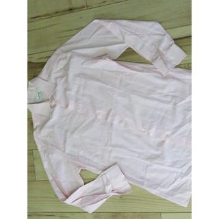 エルメス(Hermes)のエルメスHERMESメンズ コットン長袖シャツ40ピンク ドレスシャツ(シャツ)