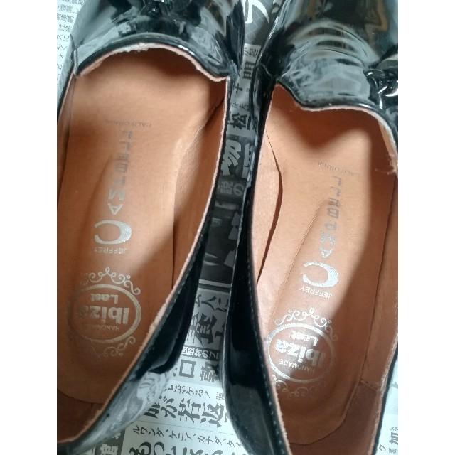 JEFFREY CAMPBELL(ジェフリーキャンベル)のジェフリーキャンベル ローファー エナメル レディースの靴/シューズ(ローファー/革靴)の商品写真