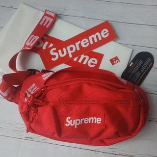 シュプリーム(Supreme)のSupreme 18ss waist bag(メッセンジャーバッグ)