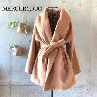 MERCURYDUO - 【美品】 MERCURYDUO マーキュリーデュオ ショールカラーコート