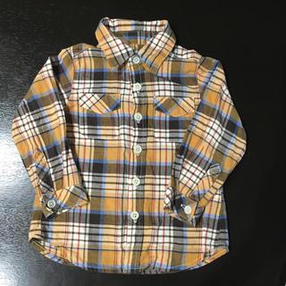 シップス(SHIPS)のSHIPS チェックシャツ 90(Tシャツ/カットソー)