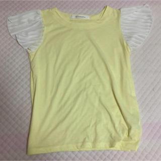 黄色 トップス Tシャツ