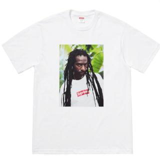 シュプリーム(Supreme)のSupreme Buju Banton Tee white M photo(Tシャツ/カットソー(半袖/袖なし))