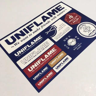 ユニフレーム(UNIFLAME)のユニフレーム 各種ステッカー(その他)