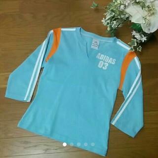 アディダス(adidas)のアディダス adidas Tシャツ 03ロゴ(Tシャツ(長袖/七分))