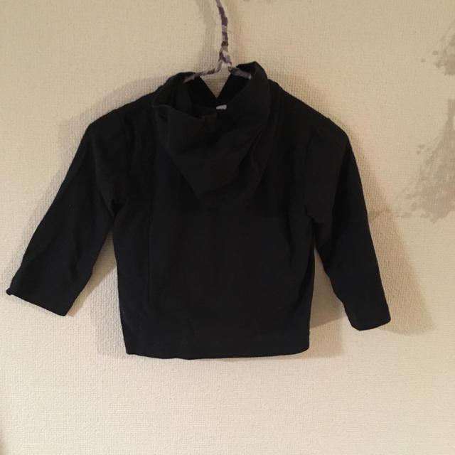 MUJI (無印良品)(ムジルシリョウヒン)の無印良品 パーカー カーディガン 80 キッズ/ベビー/マタニティのベビー服(~85cm)(カーディガン/ボレロ)の商品写真