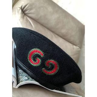 グッチ(Gucci)のグッチ ベレー帽(ハンチング/ベレー帽)
