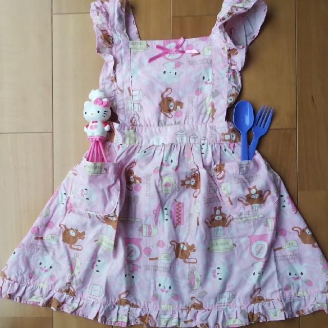 サンリオ(サンリオ)の子供エプロン キッズ/ベビー/マタニティのキッズ服 女の子用(90cm~)(その他)の商品写真