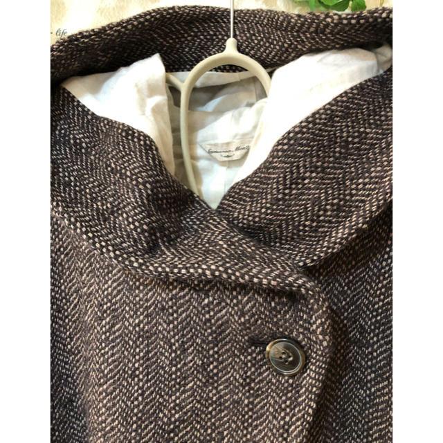 SM2(サマンサモスモス)のSM2 ビックヘリンボン アシメコート レディースのジャケット/アウター(その他)の商品写真