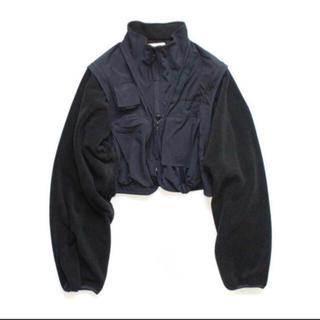 コモリ(COMOLI)のstein over sleeve fixxed fleece jacket(ブルゾン)