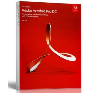 Adobe Acrobat Pro DC 2015 for Windows(その他)