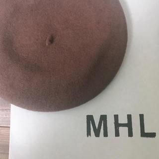 マーガレットハウエル(MARGARET HOWELL)のMHL(ハンチング/ベレー帽)